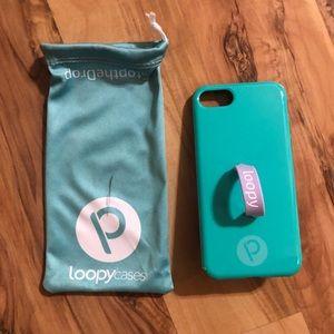 Aqua Loopy Case for iPhone 7/8